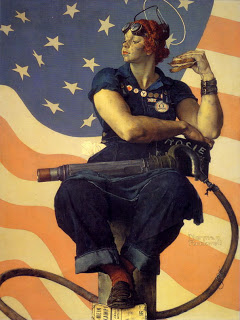 NormanRockwell-Rosie-the-Riveter-1943